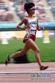 图文:日本选手夺东亚运首金 松琦璃子跑得轻松