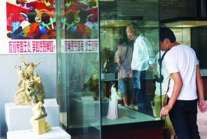 记者昨天获悉,160件解放后的陶瓷精品在陈家祠展出,以贺陈...