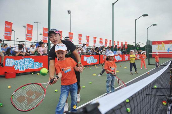 少儿网球_少儿网球教学dvd少儿足球教学非翔少儿英语