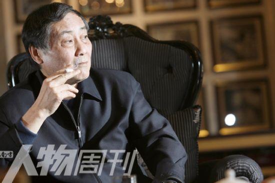 图为杭州娃哈哈集团董事长宗庆后。(图片来源:南方人物周刊)
