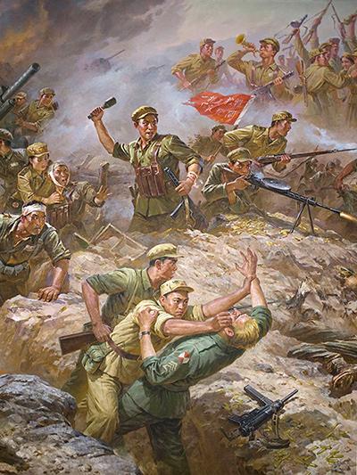 """原南京军区副司令:朝鲜半岛在历史上就""""拖累""""中国(图)"""