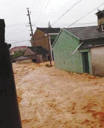 """浙江在线10月09日讯台风俨然退去,""""菲特""""余威仍在。"""