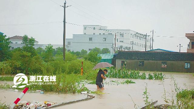 道路已被淹没