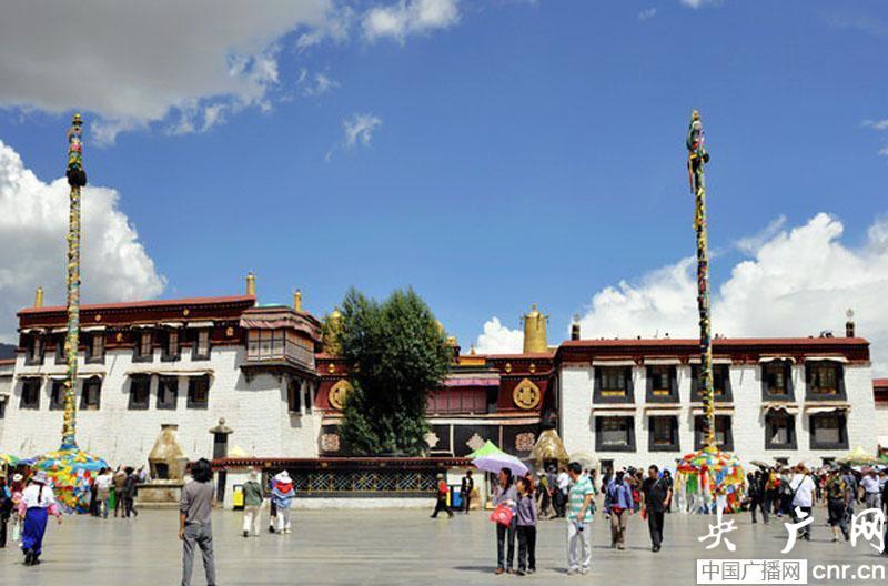 大昭寺成为西藏第二个国家5A旅游景区央广网发 索朗达杰 摄