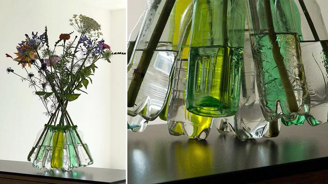 瓶子废品利用手工小制作