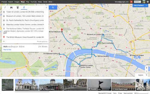 谷歌地图更新7.3版本 细致改进让你震惊
