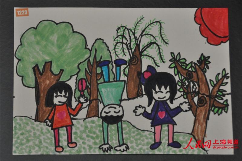 儿童画作图片