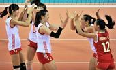 图文:东亚运女排中国胜日本夺冠 王云蕗激动