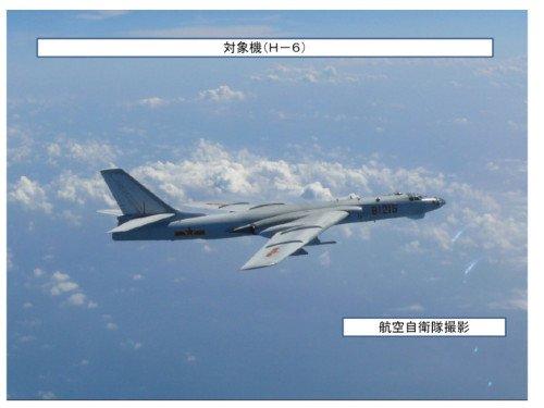�VӖ��_官方首度曝光曾穿岛链轰6部队:赴远海演习布雷(组图)