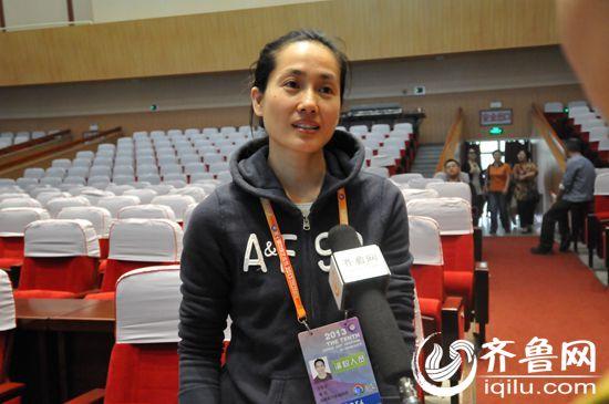 国家一级演员王君安接受齐鲁网记者专访