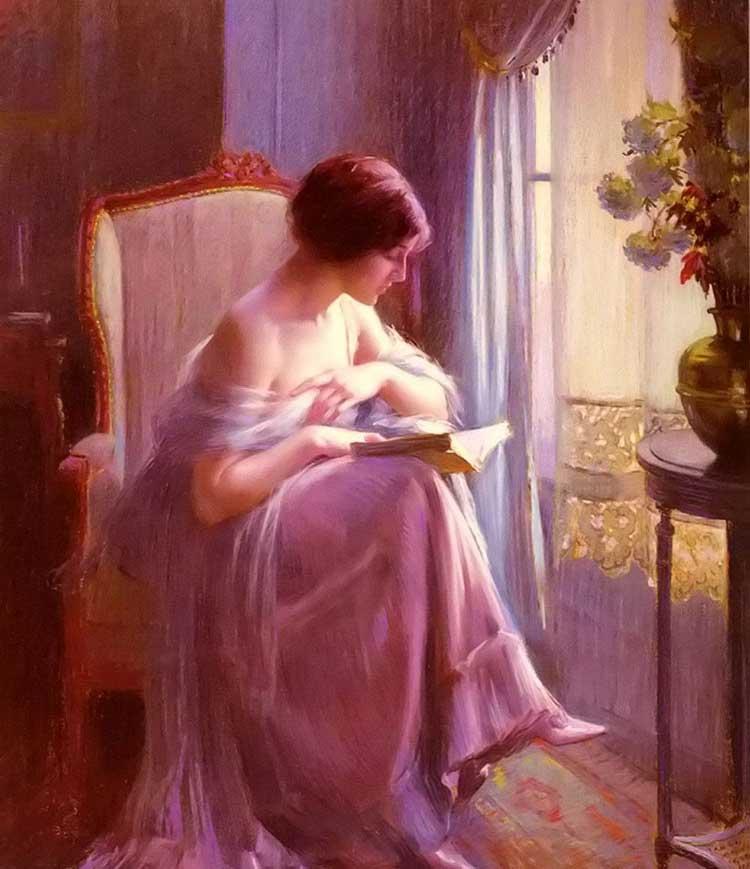 法国19世纪学院派画家擅长肖像画人体油画等恩霍拉斯最著名的作品