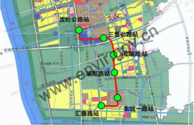 上海地铁8号线三期项目环评公示 年内将开建
