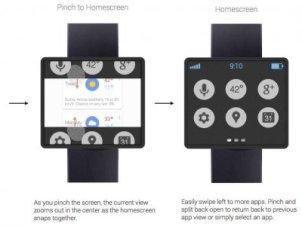 三星本月早些时候公布了一款智能手表.科技博客网站9to5高清图片
