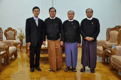 杨厚兰/杨大使表示,中缅作为友好邻邦,一直保持友好合作势头。