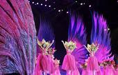 图文:第六届东亚运动会闭幕 舞台布景灯光惊艳