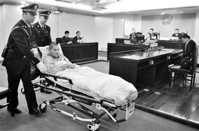 """昨日,""""首都机场7・20爆炸案""""在北京市朝阳区人民法院一审宣判。法院认定冀中星在公共场所实施爆炸,构成爆炸罪,判处其有期徒刑6年。新华社发"""