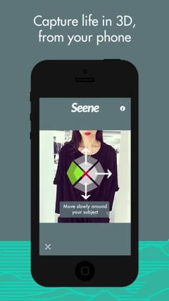 Seene截图(图片来自于App Store)