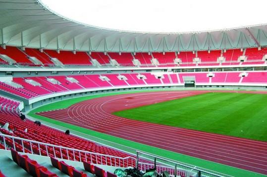 青岛国信体育场维修改造完毕 彰显国际范儿(图)