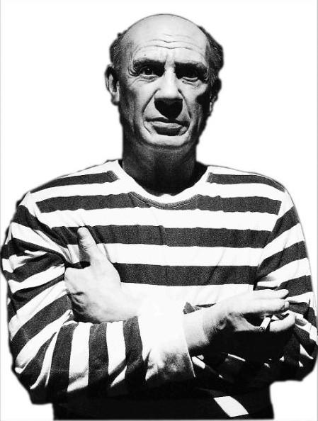 毕加索,回音哥毕加索,毕加索作品现画中画 高清图片