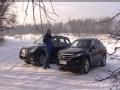 [海外新车]冰天雪地 看斯巴鲁傲虎PK歌诗图