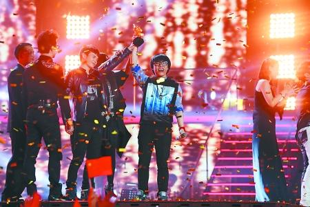 《中国好声音》第二季总决赛现场