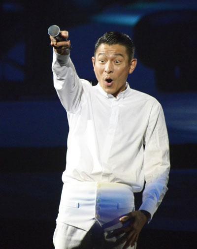 刘德华广州演唱会2013 年轻依旧风采无限(图)图片