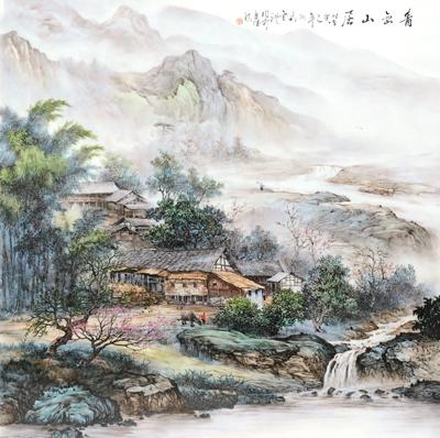 项金礼——中国书画艺坛骄子作品鉴赏(组图)图片