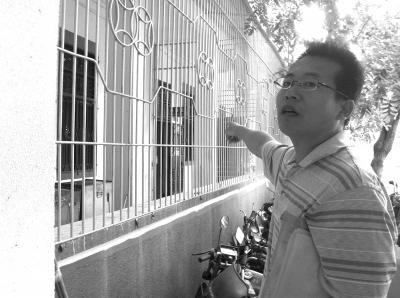 吴先生称,他是在这里被打的