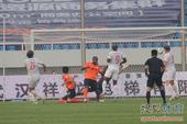 中超图:卓尔0-1东亚 进球瞬间