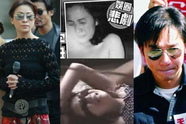 被黑社会下毒手的十大女星 刘嘉玲被强拍裸照