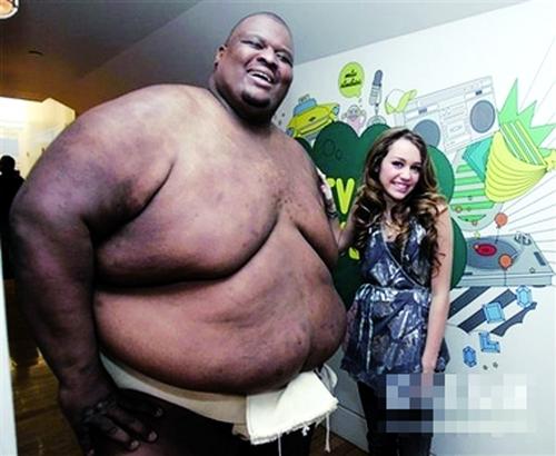 黑人胖子胖子美女亚伯勒胖子和美女