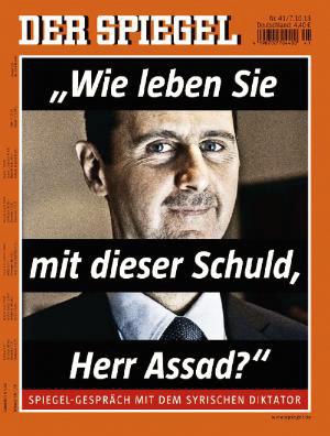 """巴沙尔揭露""""谎言"""":叙政府从未使用过化武"""