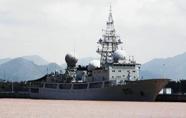 解放军侦察船抵近夏威夷 为进入第三岛链做准备