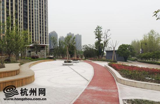 钱塘江边的大花园 沿江景观公园今年年底开园(组图)