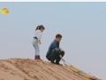 《爸爸去哪儿片花》第三期 滑沙篇 王岳伦父女艰难爬坡 田亮父女勇夺滑沙冠军