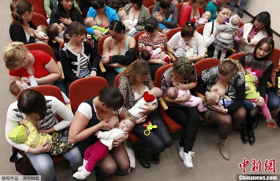 众多集体带着宝宝竞拍俄罗斯参加车牌活动哺乳齐聚妈妈上海攻略图片