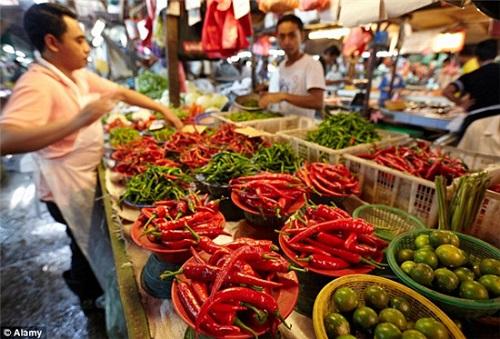 丰郁食物的念想:吉隆坡是个色香味俱全的城市,这边是生机勃勃的秋吉市场