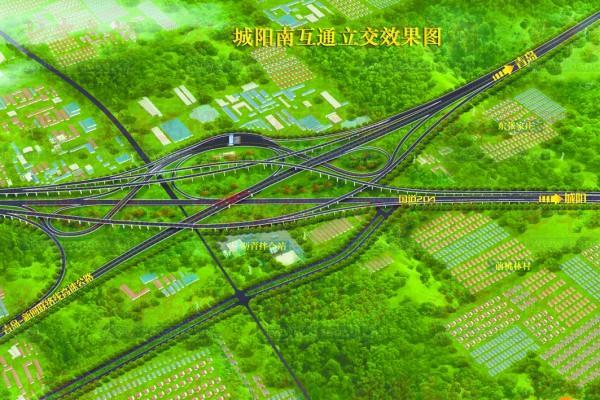 青银高速城阳南_近十铁公机项目通青岛经脉 青荣城际明年开跑-搜狐青岛