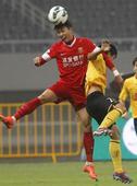 中超图:东亚1-1恒大 比赛中争顶