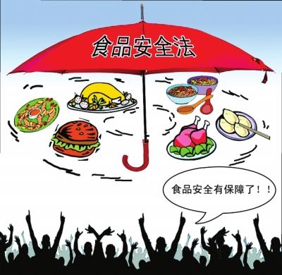 (组图)查阅公开的食品安全法(修订草案送审稿)可见网络安全