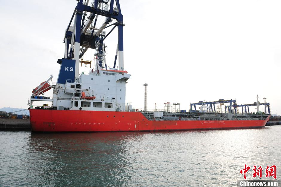 辽宁籍渔船与韩国籍货轮烟台海域碰撞沉没(高