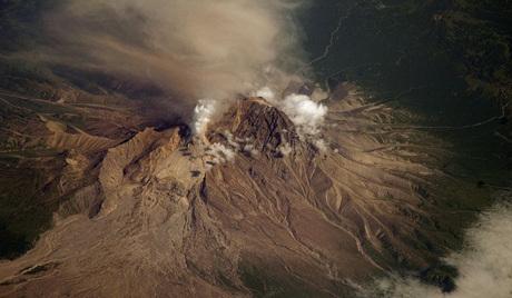 堪察加舍维留奇火山资料图