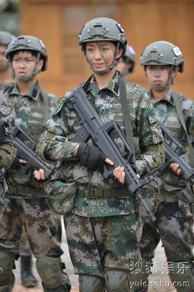 《特种兵之火凤凰》热播 刘晓洁生事不断成公敌