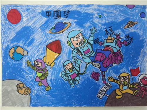 少儿画画作品图片_儿童绘画作品图片大全图片