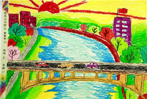 静怡 10岁 幸福家乡-少儿绘画大赛作品展示 重庆地区