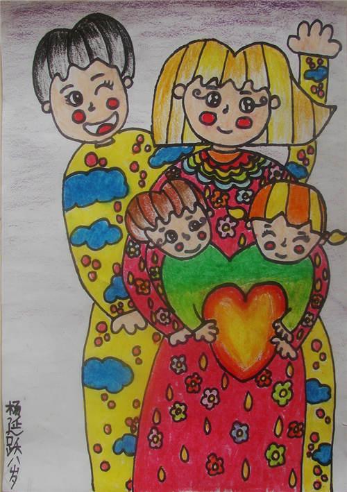 少儿绘画大赛作品展示 山东地区