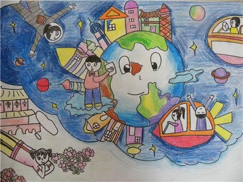 少儿绘画大赛作品展示--福建地区图片