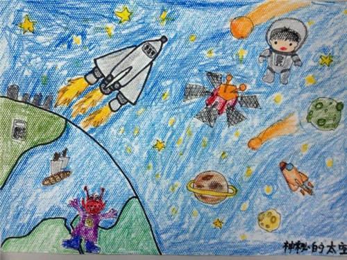 少儿绘画大赛作品展示--陕西地区图片
