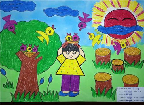 少儿绘画大赛作品展示--广东地区图片