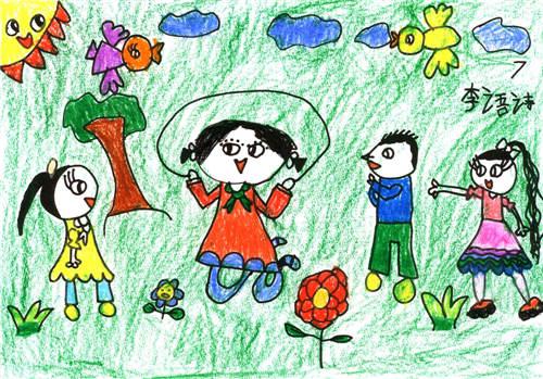 少儿绘画大赛作品展示 浙江地区